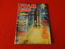 Vintage Science Fiction Magazine Star warp Aug. 1978 Earth Star 4
