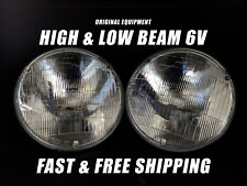 OE Front Halogen Headlight Bulb for Ford Anglia 1946-1958 6 Volt High & Low Beam
