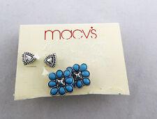 MACY'S Set of 2-pc. Stud  Earrings Msrp $24.50 ** NEW **