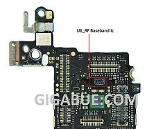 logic board banseband storage U6_RF ic chip su card mother for iphone 5S