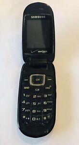 Samsung Gusto SCH-U360, Black(Verizon) Cellular Flip Cell Phone. Phone Only,Used