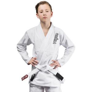 Venum Kids Contender Brazilian Jiu-Jitsu Gi - White