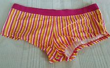 Multicolored Striped Lowe Rise Boyshorts Size X-Large 10077