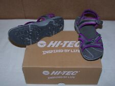 Womens Hi-Tec Harmony Life Strap Sports Water Comfort Sandals Sz 5 Purple 29028