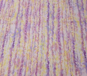 City Lights BTY Abraham Hunter P&B Textiles Watercolor Stripe Purple Pink Yellow