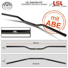 Lsl Street Béquille Guidon Aluminium Noir Polie 22,2mm