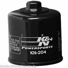 TRIUMPH BONNEVILLE T100 SE KN-204 OIL FILTER - BLACK SCREW ON