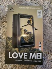 LOVE MEI Metal Armor Gorilla Glass Case Cover For Sony XA2