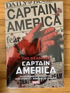 Marvel Comics CAPTAIN AMERICA Omnibus Death of Captain America  2021 Global Ship