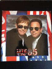 ELTON JOHN BILLY JOEL LIVE IN 1995 TOUR PROGRAM BOOK - Excellent Condition