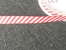 Happy Merry Christmas Ribbons Snowflakes Ribbon Gift Wrapping  1 , 3 or 5 Metres