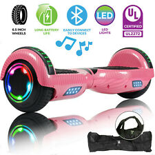 Off Road Bluetooth Hoverboard Self Balancing Electric Scooter Girl's Gift + Bag
