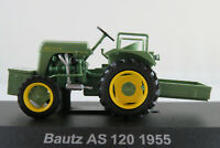 HACHETTE #86 Bautz AS 120 (1955) in resedagrün 1:43 NEU/PC-Vitrine