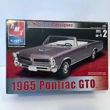 SEALED AMT 1:25 1965 Pontiac GTO Model Car Kit #31742