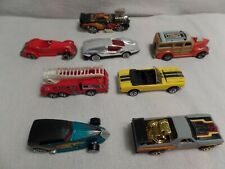 LOT OF 8 OLD DIE CAST 1974 TO 2002 CARS 7 HOT WHEELS &1 MATCHBOX SEE DESCRIPTION