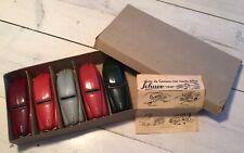 Schuco-Patent 1250 Garage Auto ladenbox mit 5 auto's