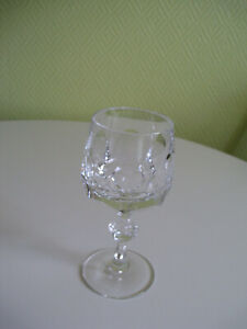 Nachtmann Alexandra Weinglas  Höhe 14,5 cm Vintage Kristallglas