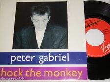 "7"" - Peter Gabriel/Shock the Monkey & Shock the Monkey-promo spain # 2999"