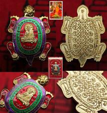 Rian Luang Pu Saen Turtle (Phaya Tao Ruean Code336) Wat Ban NongChik Thai Amulet