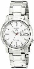 Seiko 5 SNK789 Automatic 21 Jewels White Dial Stainless Steel Men Watch SNK789K1