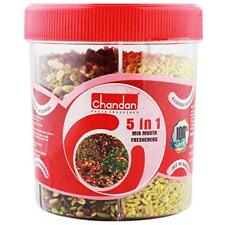 Mouth Freshener 230 grams Chandan Mukhwas Tin -5 In 1 Indian Freshner After Meal