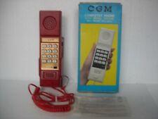 TELEFONO PARETE ABS CON TASTI CGM MODELLO TF 720 ANNI '80