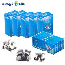 25X EASYINSMILE Dental Orthodontic Metal Bracket MINI Brace Roth 022 3-4-5 Hook