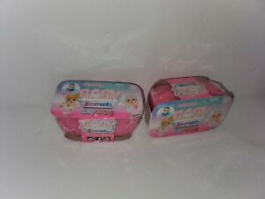 Baby Secrets Series 4 Itzy Glitzy~Lot Of 2 Surprise Baby~Nea Factory Sealed ~