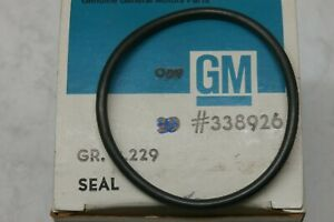 2- 338926 Transmission Seal, Set Of 2, NOS OEM ACDelco, S/A SO-39 Free US Ship `