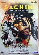 SACHIN : A BILLION DREAMS DVD - 2017 DOCUMENTARY MOVIE DVD IN ENGLISH / SUBTITLE