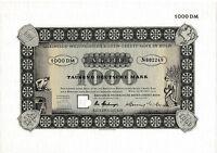 Rheinisch-Westfälische Boden-Credit Bank Köln DM Aktie 1965 Rheinboden Aareal