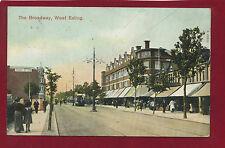 Vintage Postcard.The Broadway, West Ealing. Publ.Wakefield Wholesale.A05345 E21