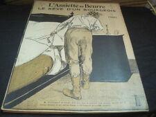 L'ASSIETTE AU BEURRE N° 157 2 avril 1904 le rêve d'un bourgeois par VOGEL