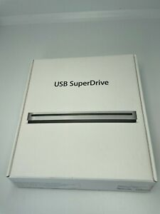 Original Apple SuperDrive 8x External USB Double-Layer DVD±RW/CD-RW Drive Silver