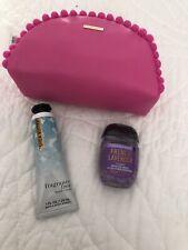 Bath & Body Works Make-up Bag Handcream & Handgel