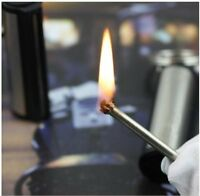 Refillable Permanent Match Box Lighter - Buy One Get One Free