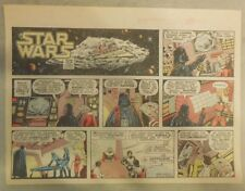 Star Wars Sunday Page by Alfredo P. Alcala from 8/17/1980 Large Half Page Size!