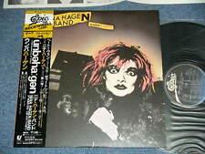 NINA HAGEN BAND Japan 1980 NM LP+Obi UNBEHAGEN (IL AT EASE)