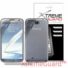 XtremeGuard FULL BODY Screen Protector Shield For Samsung Galaxy Note 2 II N7100