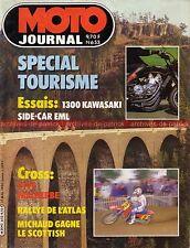 MOTO JOURNAL  653 KAWASAKI Z 1300 Z1300 ; Side EML Tourist Trophy 1984
