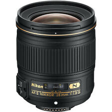 Nikon 28mm f/1.8G AF-S Nikkor Lens NEW +5 YEAR NIKON USA WARRANTY
