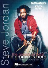 Steve Jordan The Groove Is Here DVD Instructional Drum  DVD NEW 000320369
