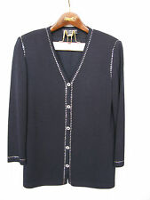 St. John Evening suite by Marie Gray Dark Navy Size 12  $2500
