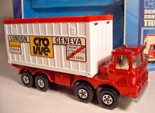 """Matchbox Superking K-24B Scammel Container Truck """"Crowe"""" top in Box"""
