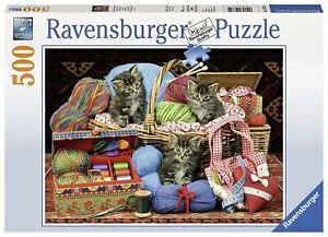 Ravensburger - Fluffy Pleasure 500 Pieces Jigsaw Puzzle