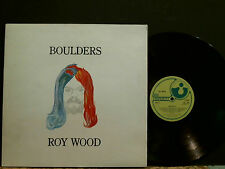ROY WOOD  Boulders    LP   UK first pressing Harvest label   Great !