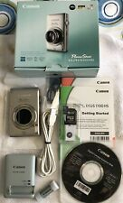 Canon PowerShot ELPH 510 HS / IXUS 1100 HS 12.1MP Digital Camera~~Silver~~Mint~~