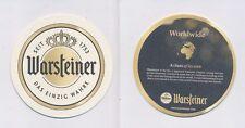 1 WARSTEIN - WARSTEINER  (EXPORT) BIERDECKEL BEERCOASTERS  (19219)