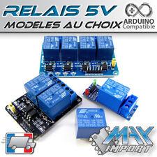 Module Relais 5V - 1 canal - 2 ou 4 canaux - 250V/10A (relay way Arduino)