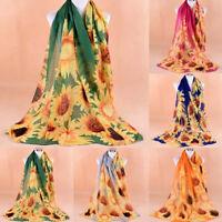 Women/'s Fashion Long Scarf Panda Print Soft Voile Scarf Wrap Shawl Scarves NC815
